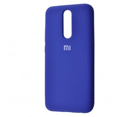 Чехол для Xiaomi Redmi 8 Silicone Cover Blue