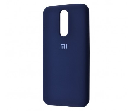Чехол для Xiaomi Redmi 8 Silicone Cover Midnight Blue