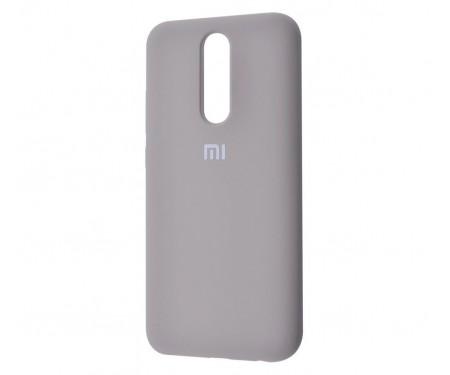 Чехол для Xiaomi Redmi 8 Silicone Cover Gray