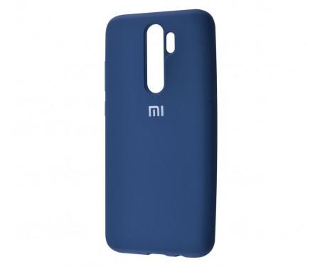 Чехол для Xiaomi Redmi Note 8 Pro Silicone Cover Blue