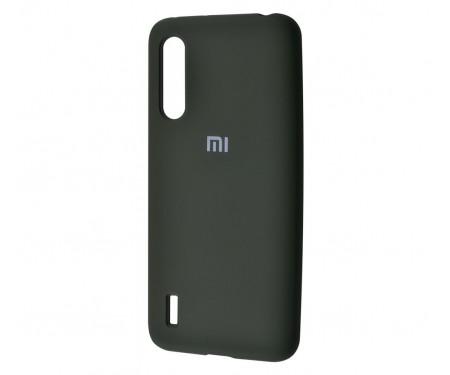 Чехол для Xiaomi Mi9 Lite Silicone Cover Dark Olive