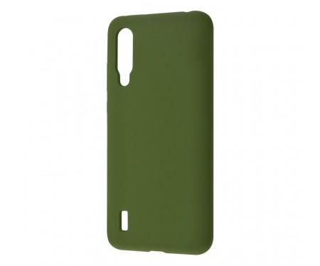 Чехол для Xiaomi Mi9 Lite WAVE Full Silicone Cover Army Green