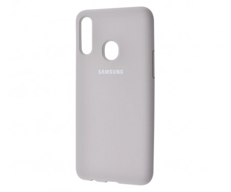 Чехол для Samsung Galaxy A20s Silicone Cover Gray