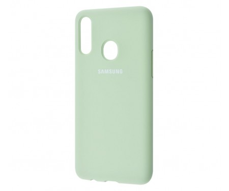 Чехол для Samsung Galaxy A20s Silicone Cover Mint Gum