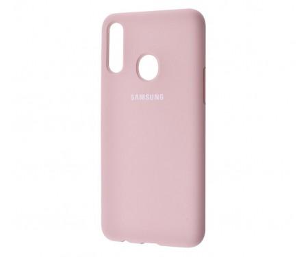 Чехол для Samsung Galaxy A20s Silicone Cover Pink Sand