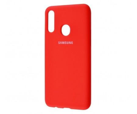 Чехол для Samsung Galaxy A20s Silicone Cover Red