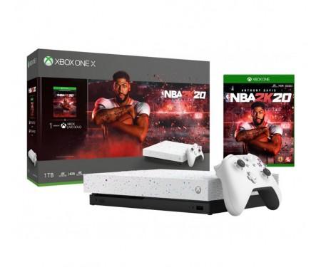 Игровая приставка Xbox One X NBA 2K20 Special Edition bundle