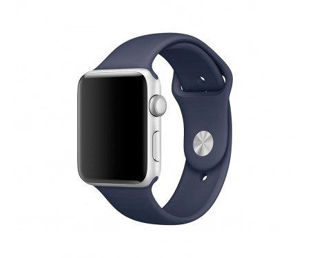 Ремешок для Apple Watch 42/44mm Sport Band Midnight Blue
