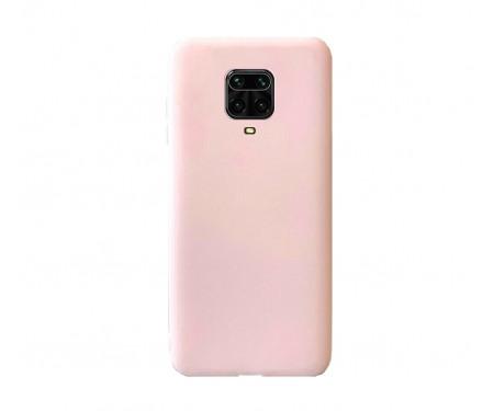 Чехол для Xiaomi Redmi Note 9S/Note 9 Pro/Note 9 Pro Max Silicone case Pink Sand