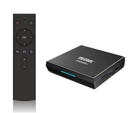 Медиаплеер стационарный MECOOL KM3 4/128Gb Android TV 9.0 1