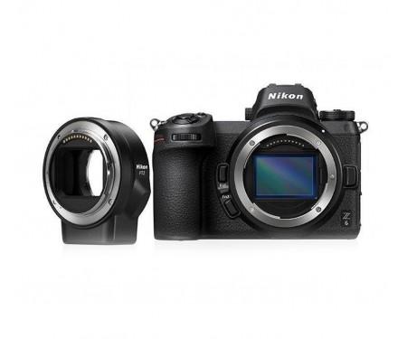 Фотоаппарат Nikon Z6 Body + FTZ Mount Adapter