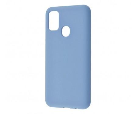 Чехол для Samsung Galaxy M21/M30s WAVE Full Silicone Cover Azure