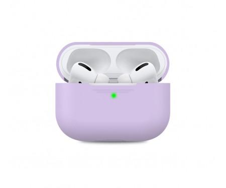 Чехол для Airpods Pro AhaStyle Silicone Case Lavender (AHA-0P300-LVR)