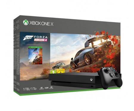 Игровая приставка Microsoft Xbox One X 1TB + Forza Horizon 4