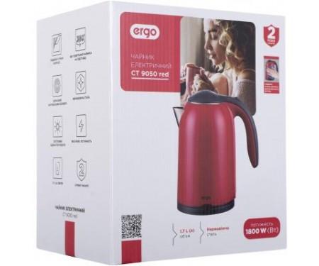 Электрочайник Ergo CT 9050 red (CT9050)