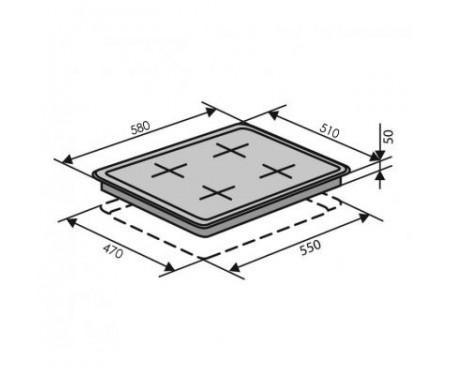 Варочная поверхность VENTOLUX HSF640-D2 CEST (IV/RB)