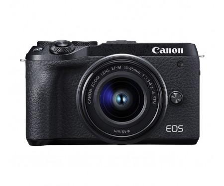 Фотоаппарат Canon EOS M6 Mark II kit (15-45mm) Black