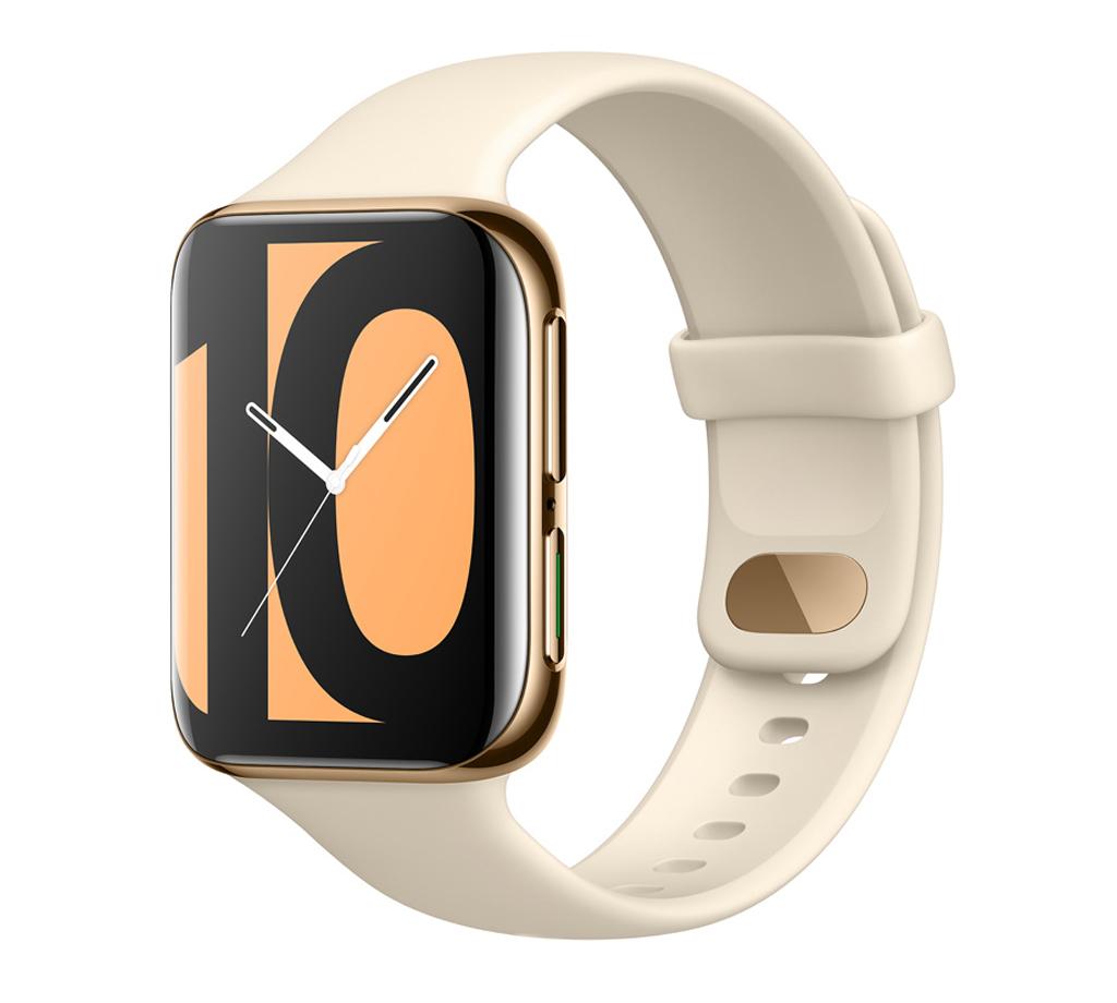 Смарт-часы OPPO Watch 46мм Glossy Gold