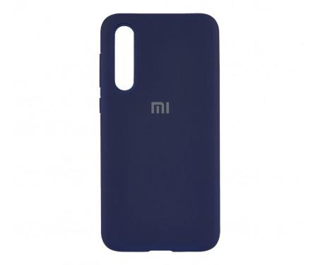 Чехол для Xiaomi CC9e Silicone Case Blue