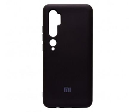 Чехол для Xiaomi Mi CC9 Pro Silicone Case Black