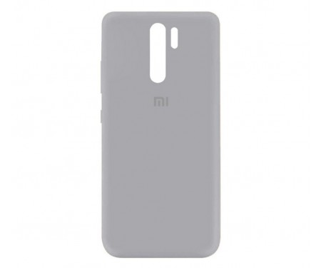 Чехол для Xiaomi Redmi 9 Silicone Case Gray