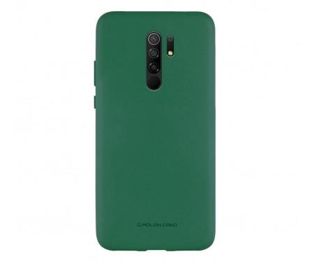 Чехол для Xiaomi Redmi 9 Silicone Case Dark Green