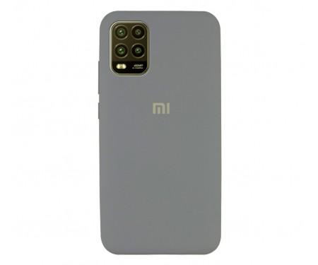 Чехол для Xiaomi Mi 10 Lite Silicone Case Gray