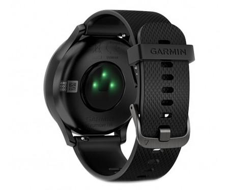 Смарт-часы Garmin Vivomove HR Black with Black Silicone Band (010-01850-11)