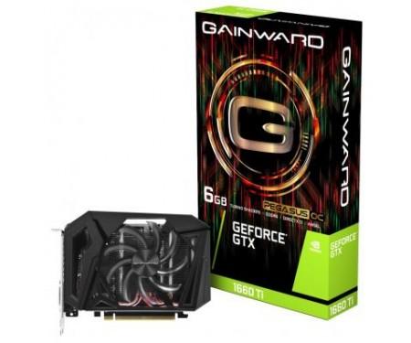 Видеокарта GAINWARD GTX1660Ti-PEGASUS-OC-6G-GDDR6 (426018336-4368)
