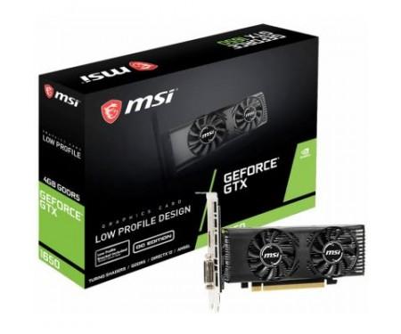 Видеокарта MSI GeForce GTX1650 4096Mb LP OC (GTX 1650 4GT LP OC)