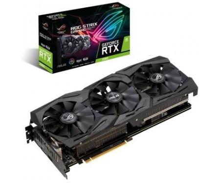 Видеокарта ASUS GeForce RTX2060 6144Mb ROG STRIX ADVANCED GAMING (ROG-STRIX-RTX2060-A6G-GAMING)