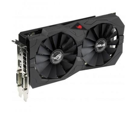 Видеокарта ASUS Radeon RX 570 8192Mb ROG STRIX GAMING OC (ROG-STRIX-RX570-O8G-GAMING)