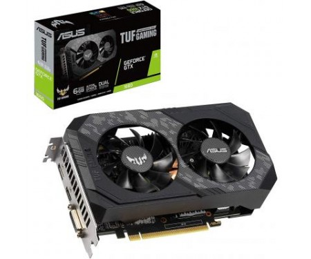 Видеокарта ASUS GeForce GTX1660 6144Mb TUF GAMING (TUF-GTX1660-6G-GAMING)