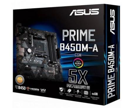 Материнская плата ASUS PRIME B450M-A/CSM