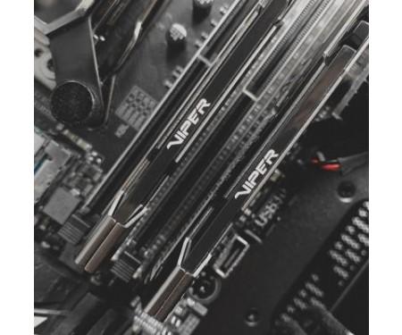 Модуль памяти для компьютера DDR4 32GB (2x16GB) 3000 MHz Viper Steel Patriot (PVS432G300C6K)
