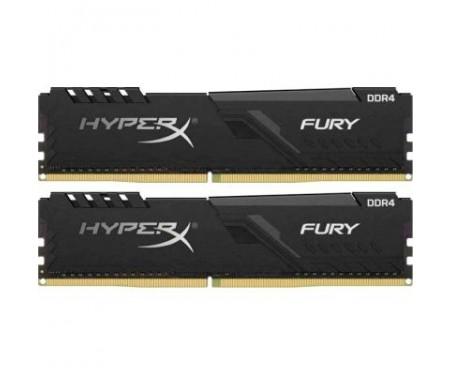 Модуль памяти для компьютера 32GB (2x16GB) 3466 MHz HyperX FURY Black Kingston (HX434C16FB3K2/32)
