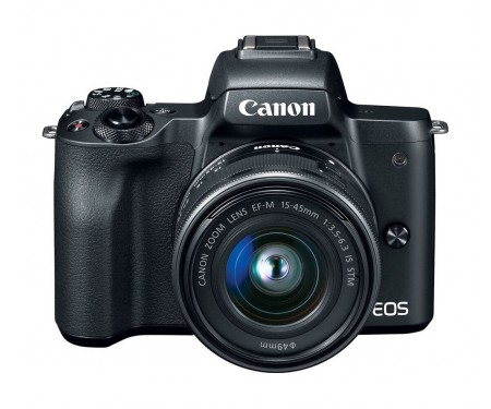 Фотоаппарат Canon EOS M50 kit (15-45mm + 55-200mm) IS STM