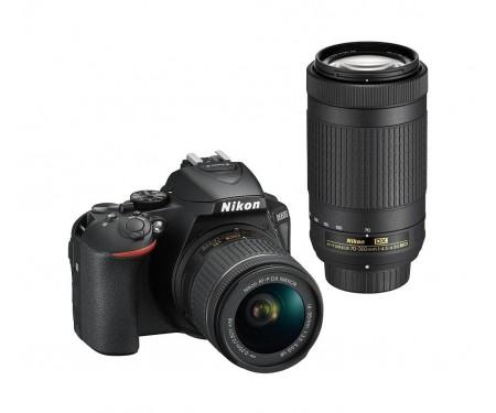 Фотоаппарат Nikon D5600 kit (18-55mm+70-300mm)