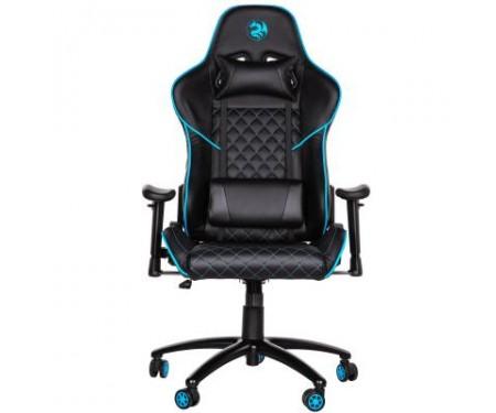 Кресло игровое 2E GC23 Black/Blue (2E-GC23BLB)