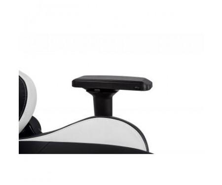 Кресло игровое 2E GC24 Black/White (2E-GC24BLW)