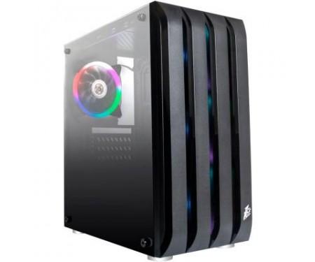Корпус 1stPlayer Black Sir B2-R1 Color LED
