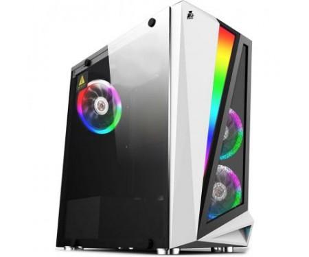 Корпус 1stPlayer R5-R1-WH Color LED