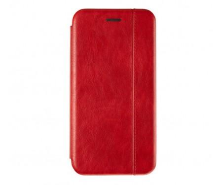 Чехол-книжка для Samsung A10s Leather case Red
