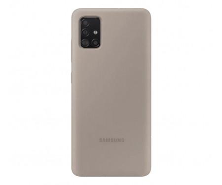 Чехол для Samsung Galaxy A51 Silicone case Grey