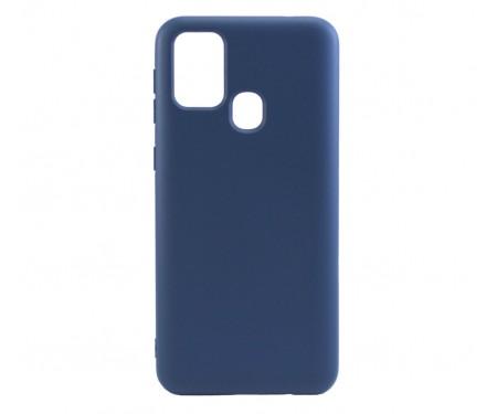 Чехол для Samsung Galaxy M31 Silicone Case Blue