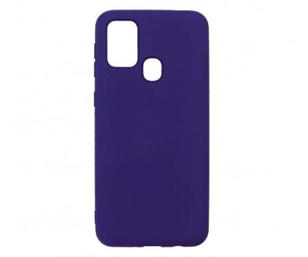 Чехол для Samsung Galaxy M31 Silicone Case Violet