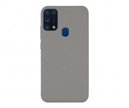 Чехол для Samsung Galaxy M31 Silicone Case Grey