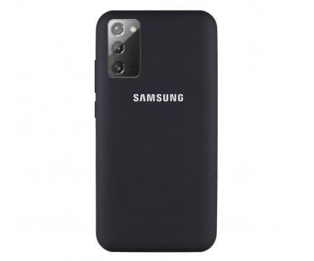 Чехол для Samsung Galaxy Note20 Ultra Silicone Case Black