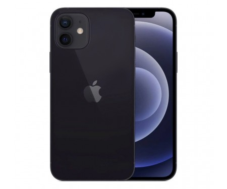 Смартфон Apple iPhone 12 256GB Dual Sim Black (MGH13)