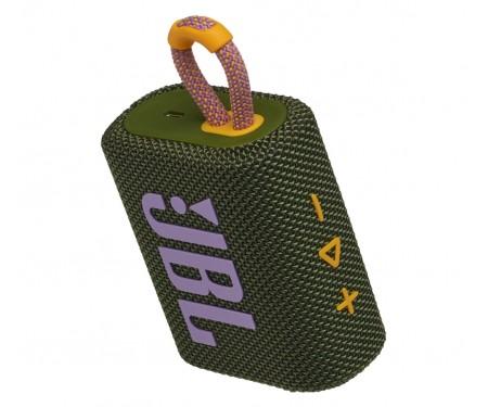 Колонка JBL Go 3 Green (JBLGO3GRN)